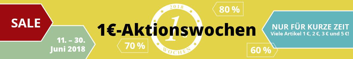 1-Euro-Aktion 2018 - Reduzierte christliche Bücher