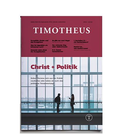 Timotheus Magazin #32 - Cover